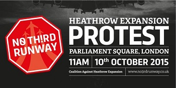Heathrow Expansion Protest
