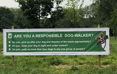 Your Views On Dog Walkers And Land Management Required