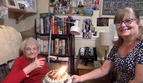 Wimbledon Resident Mary Celebrates Her Centenary In Style