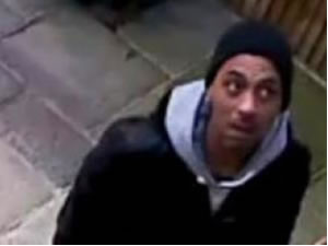 Suspect 1 is described as a black man wearing a black beanie style hat