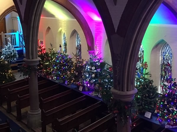 Christmas Tree Festival Will Light Up Wimbledon Church