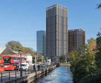 Colliers Wood Twin Tower Block Scheme Submitted To Planners