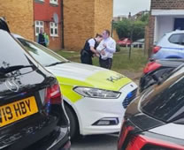 Two Arrested After Police Chase Across Wimbledon