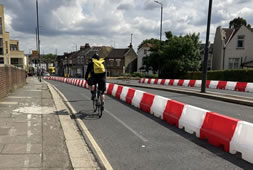 Local Streets Transformed To Give More Space For Cyclists And Walkers
