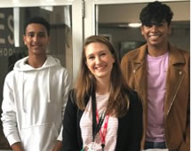 Wimbledon Students Celebrate Their A Level Triumphs