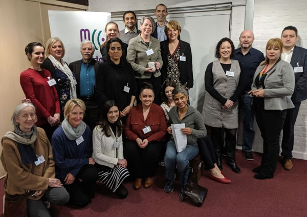 Merton businesses at climate action network launch