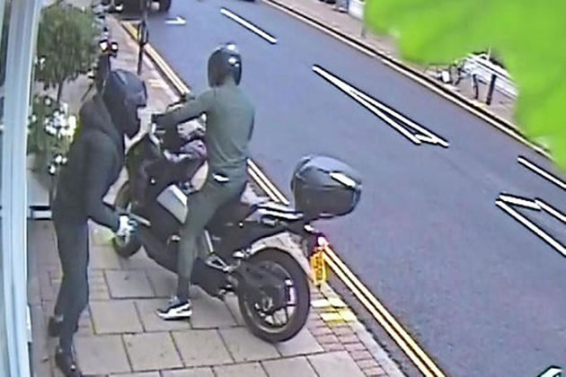 Moped Robbers Seal Off Church Road To Carry Out Ram Raid