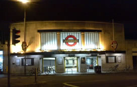 South Wimbledon tube
