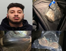 Raynes Park Drug Dealer Is Jailed After Motorway Arrest