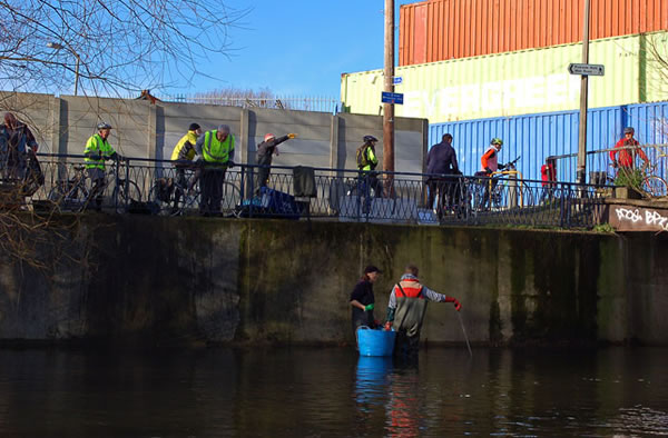 River Wandle clean up
