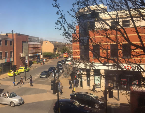 Wimbledon town centre bank in chemical incident