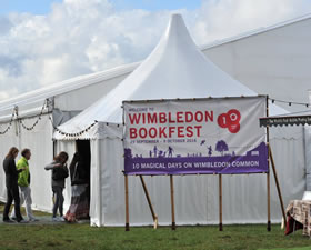 Wimbledon BookFest Big Tent