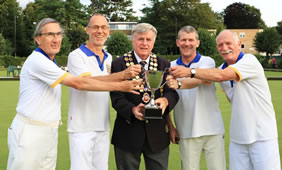 Wimbledon Park Bowlers Are Champions Of Surrey