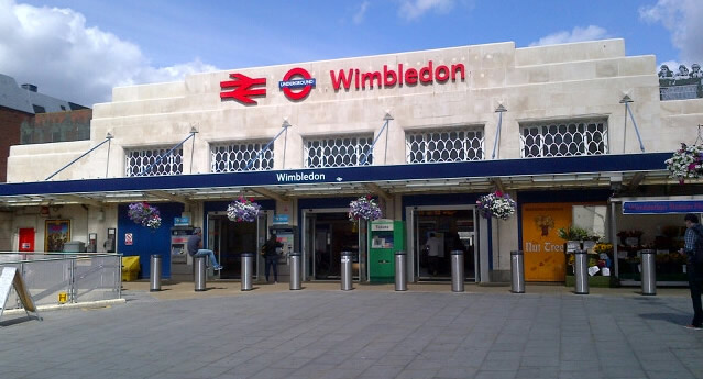 Armed Police Hunt Man With Firearm At Wimbledon Station