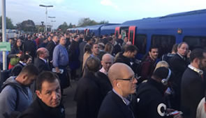 Outer London Commuters Complain About Overcrowding
